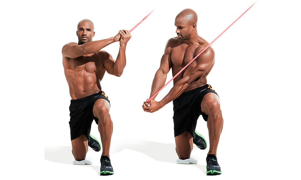 Косые мышцы живота - Дровосек