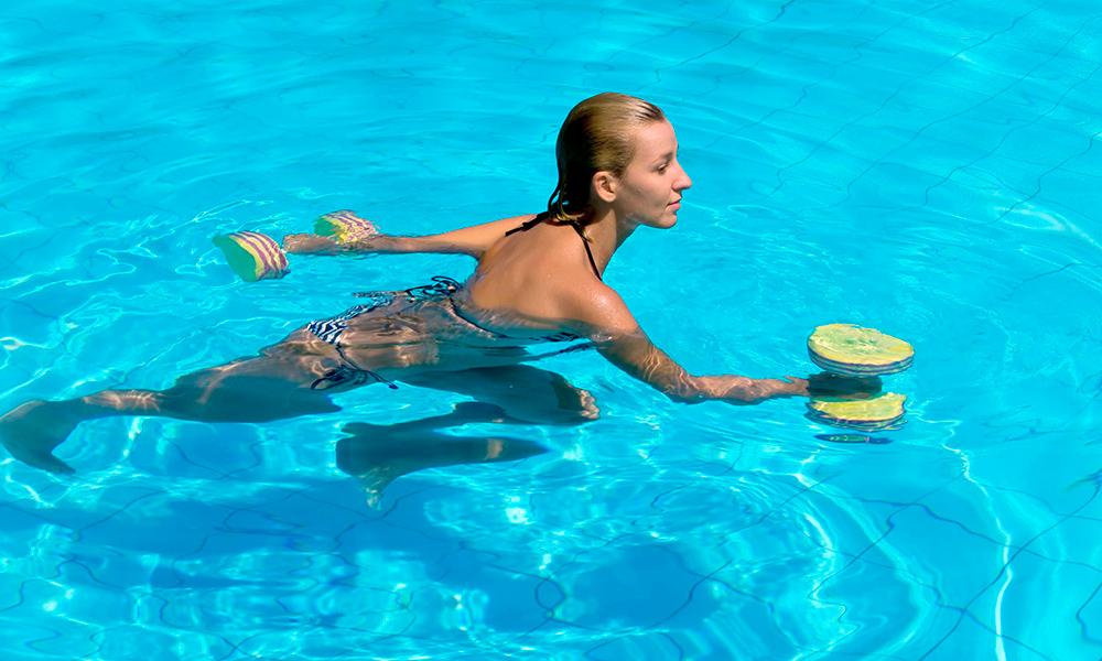 Преимущества водной гимнастики