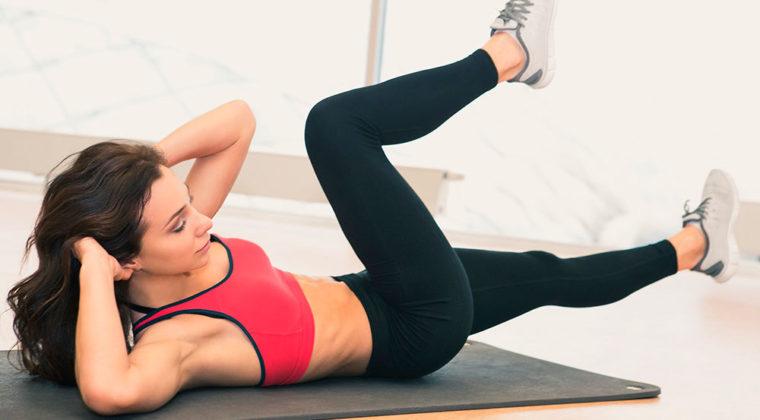Упражнение «Скручивания ног»
