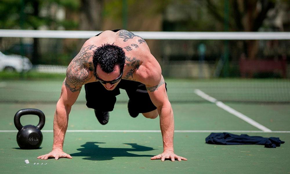Упражнения берпи для мужчин