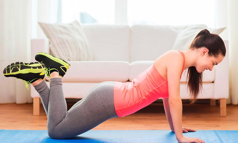 Отжимания на коленях для похудения