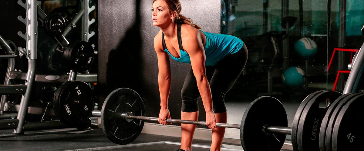 Становая тяга с гантелями - Техника выполнения тяги с гантелями для мужчин