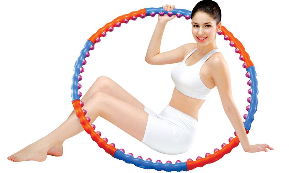 Упражнение для похудения Обруч